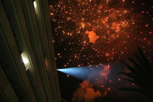 Fireworks at Tenerife
